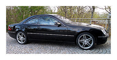 The Starry Towers Mercedes-Benz CL500