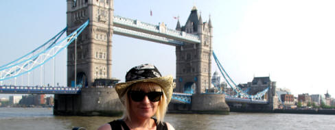 me at Tower Bridge London