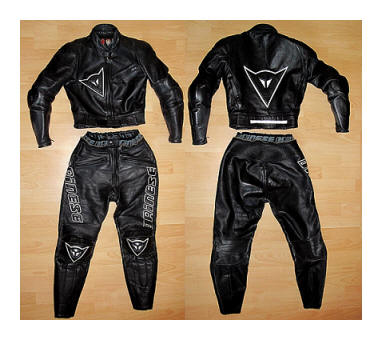 my old Dainese Leathers