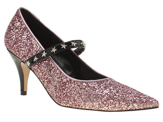 womens red or dead pink alexandra low heels