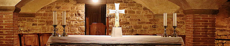alter in the crypt