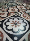 The Duomo tiled floor
