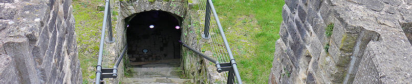 entrance to the Casemates