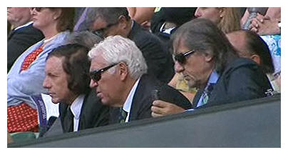 Ilie Nastase and the man with a really bad comb-over