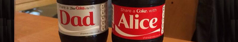 Alice and Dad Cokes
