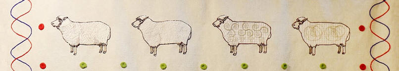 Dolly the Sheep panel