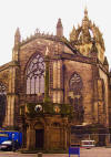 Market Cross St Giles Cathedral Edinburgh
