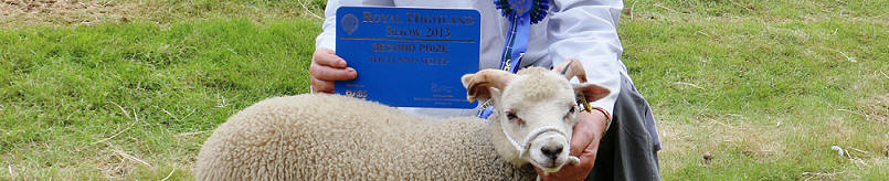 The Dad's first Royal Highland Show ticket